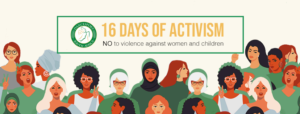 16 Days of Activism - NO violence against women & children by DanceSportSA 2020