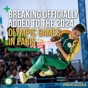 Breaking officially added to the 2024 Olympic Games in Paris - DanceSport SA