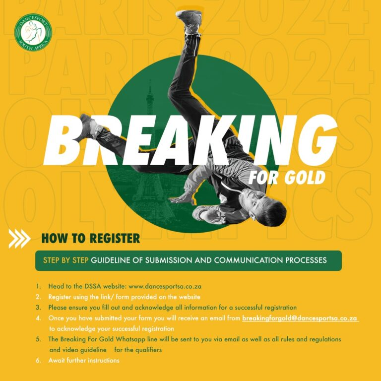 Read more about the article Breaking For Gold Official 2021 South Africa Registration Form