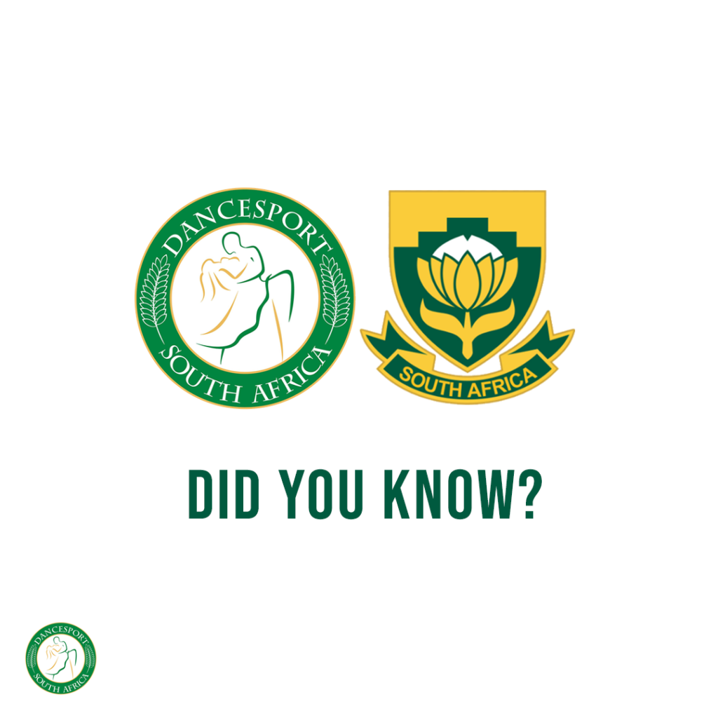 Did you know DanceSport South Africa previously known as (FEDANSA) was formed in 1994