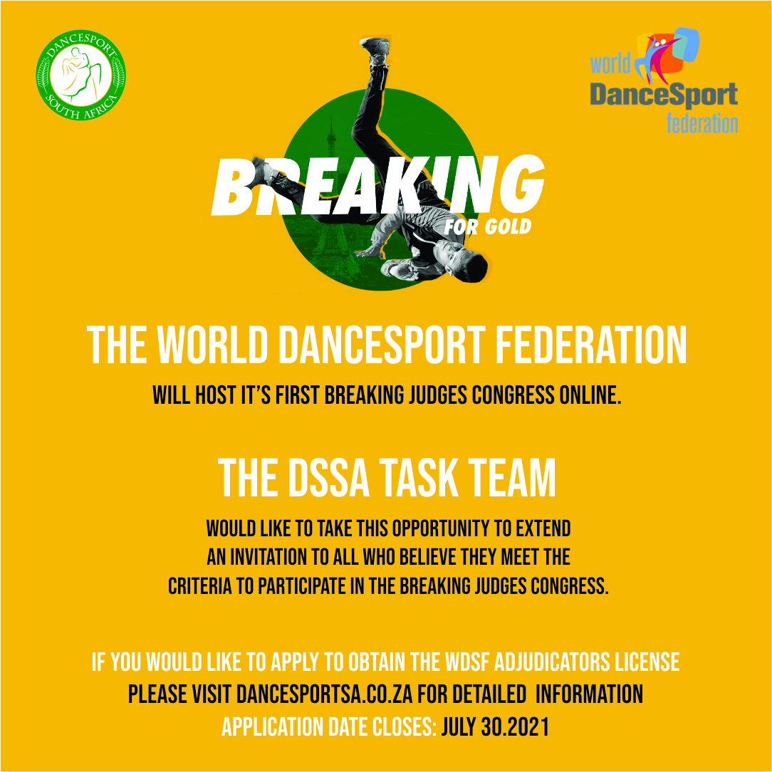 You are currently viewing WDSF to host first Breaking Judges Congress to obtain the Adjudicators licence for the Three Folds system.