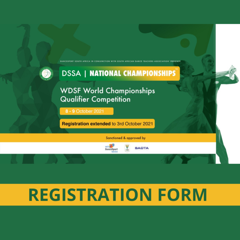Read more about the article ENTRY FORM: DSSA NATIONAL CHAMPIONSHIPS ™ 2021